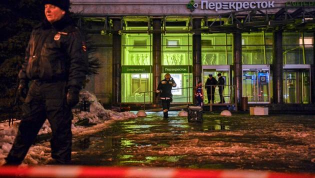 IS reklamiert Anschlag von St. Petersburg für sich