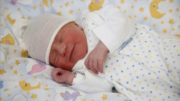 Das Kärntner Neujahrsbaby kommt aus Villach und heißt Elisa