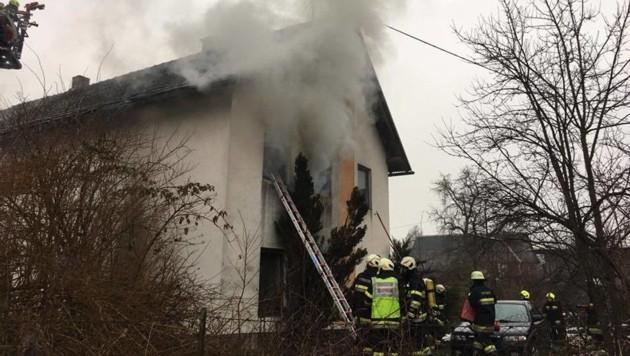 In Rakollach, in der Gemeinde Völkermarkt, stand ein Zimmer in Brand