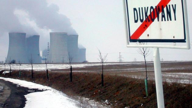 Das tschechische Atomkraftwerk Dukovany