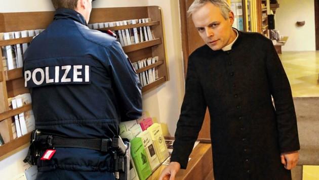 Pfarrer Christian Sieberer ertappte den Täter.