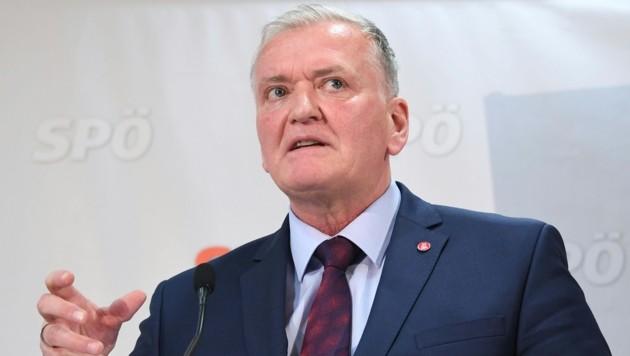 SPÖ-Niederösterreich-Chef Franz Schnabl (Bild: APA/HELMUT FOHRINGER)