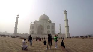 Indiens Wahrzeichen Taj Mahal (Bild: AFP)