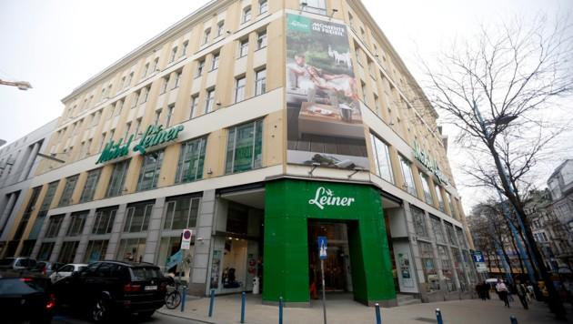 Der Leiner-Flagshipstore in der Mariahilfer Straße in Wien (Bild: APA/Georg Hochmuth)