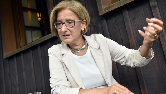 Niederösterreichs Landeshauptfrau Johanna Mikl-Leitner  (Bild: APA/HERBERT PFARRHOFER)