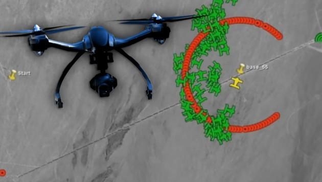 US-Armee trainiert Angriffe mit Drohnen-Schwarm