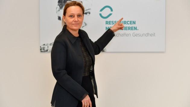 Mag. Doris Formann ist die Geschäftsführerin von PROGES in Linz. (Bild: © Harald Dostal / 2018)