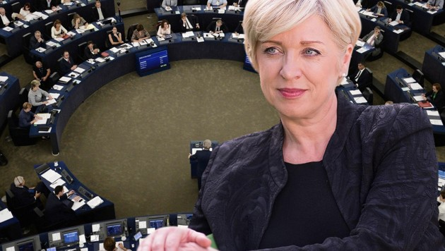 Die slowenische EU-Parlamentarierin Romana Tomc
