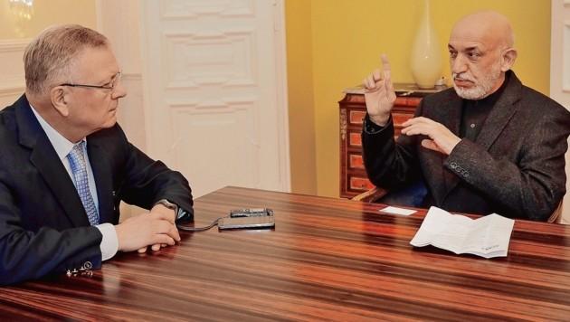 """Brief Nach Nordkorea : Karzai """"der is wechselt jetzt nach afghanistan """" krone at"""