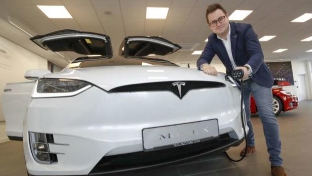 Das neue Servicecenter von Tesla in Wals soll den Verkauf ankurbeln.