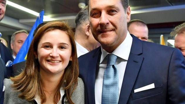 Svazek und Parteichef Strache
