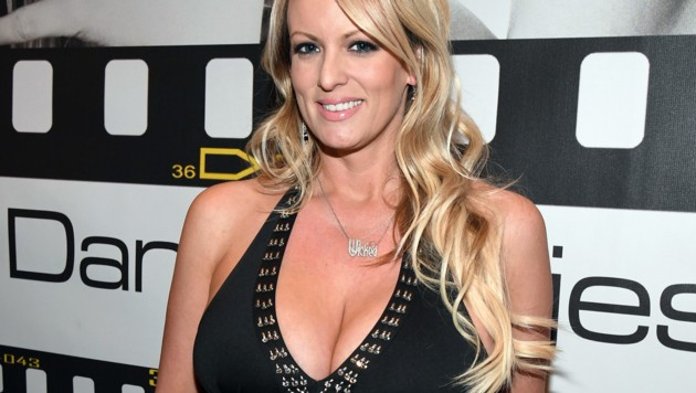 Stormy Daniels im Jänner 2017 auf der AVN Adult Entertainment Expo in Las Vegas (Bild: AFP)