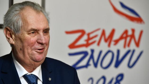 Tschechien: Zeman und Drahos in der Stichwahl