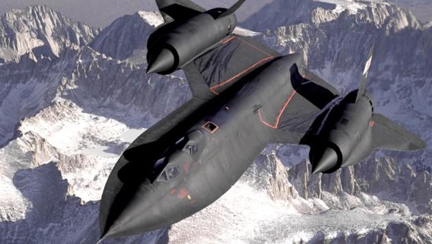 Diese SR-71 wurde von der Weltraumagentur NASA als Versuchsflugzeug eingesetzt.