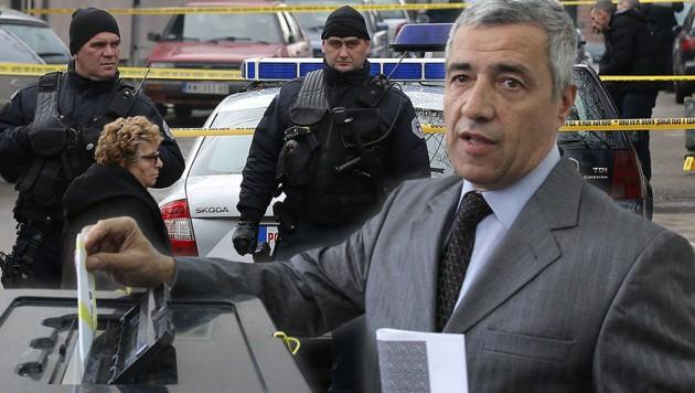 Kosovo: Serbenführer auf offener Straße erschossen