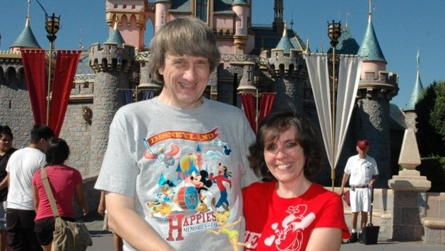 Die Turpins bei einem Ausflug ins Disneyland