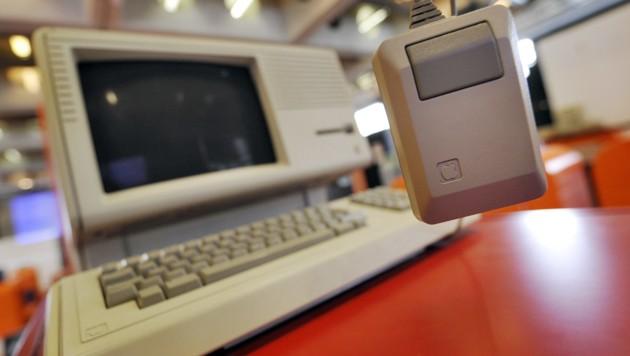 Das Nachfolgemodell Lisa 2 mit Maus (Bild: AFP)