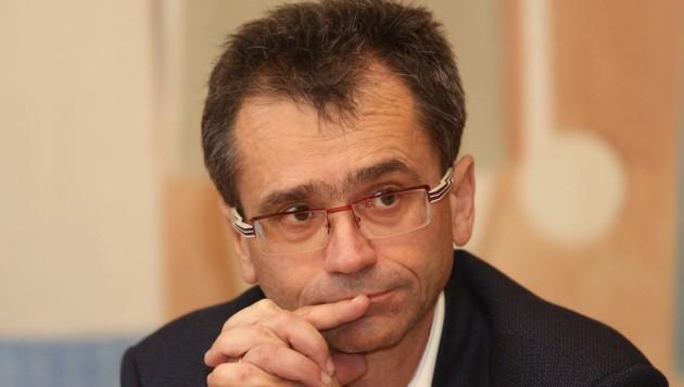 Besorgt: Der oö. Ärztekammerpräsident Peter Niedermoser