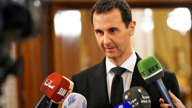Der syrische Machthaber Assad