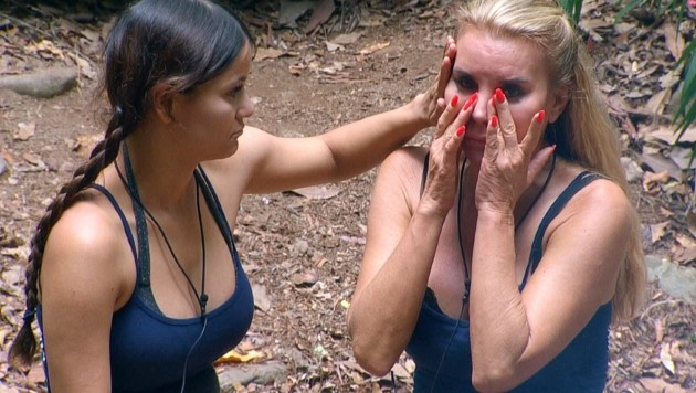 Tatjana Gsell weint bittere Tränen. (Bild: RTL)