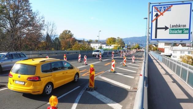 Die Sanierung der Seebachbrücke verschlingt 2,46 Millionen (Bild: Thomas Leitner)