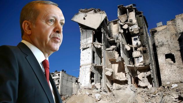 Erdogans Truppen mischen im Syrien-Krieg kräftig mit.