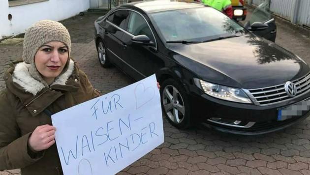 Mit diesem Auto wurde Kader K. im November 2016 von ihrem Exfreund durch die Straßen Hamelns geschleift.