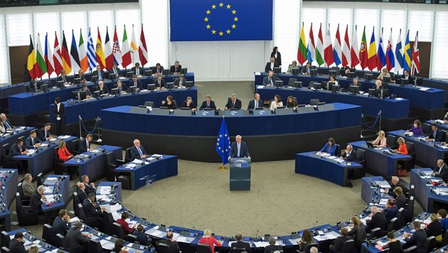 Das EU-Parlament in Brüssel (Bild: AFP)