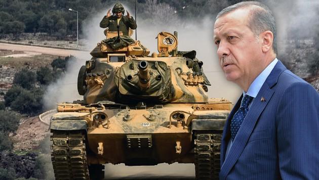 Türkei errichtet Militärposten in Syrien