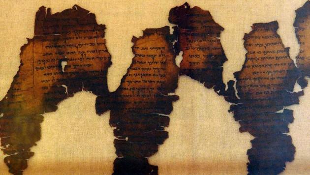 Weiter Schriftrolle vom Toten Meer entziffert