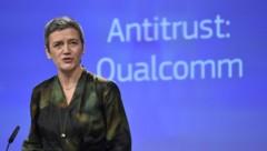 EU-Kommissarin Margrethe Vestager (Bild: AFP)