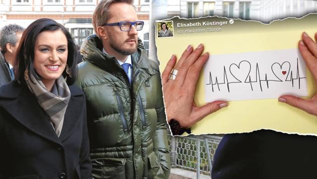 Ministerin Köstinger: Baby Lorenz Johannes ist da!