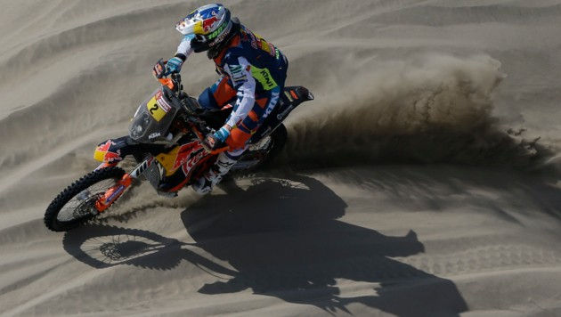 KTM-Pilot Matthias Walkner gewann die Dakar-Rallye 2018. (Bild: AP)