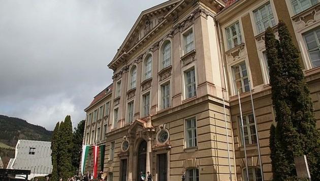 Das Hauptgebäude der Montanuni Leoben (Bild: Montanuni Leoben)