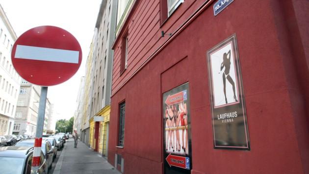 Ein Laufhaus in Wien (Symbolbild)