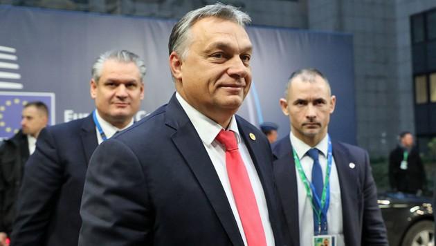 Ministerpräsident Viktor Orban ist derzeit der wohl umstrittenste EU-Nachbar Österreichs. (Bild: APA/AFP/LUDOVIC MARIN)