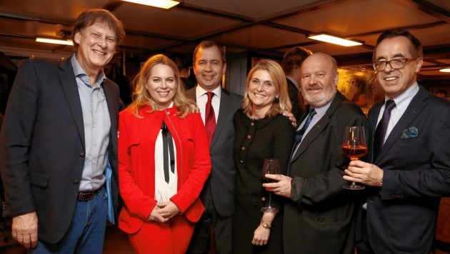 Übern Wörthersee ume: Fest bei den alpenländischen Kreditschützern
