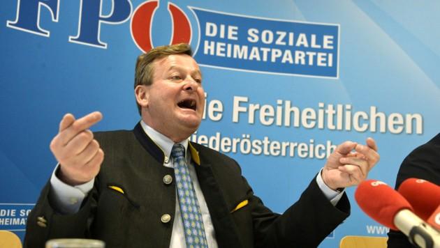 Gottfried Waldhäusl (Bild: APA/Herbert Pfarrhofer)