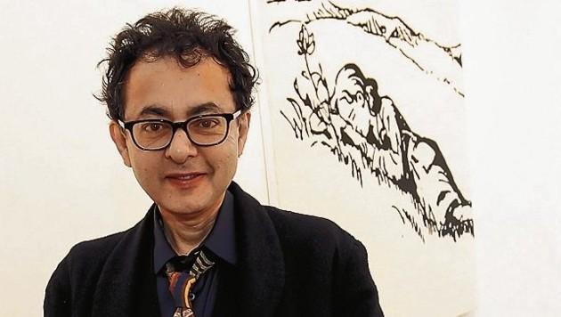 Galerie Ropac zeigt den iranischen Künstler Farhad Moshiri (Bild: Markus Tschepp)