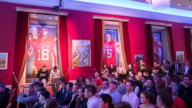 Rund 350 Super Bowl-Fans folgten im Vorjahr der Einladung der Salzburg Bulls ins Casino Kleßheim. (Bild: Salzburg Bulls)