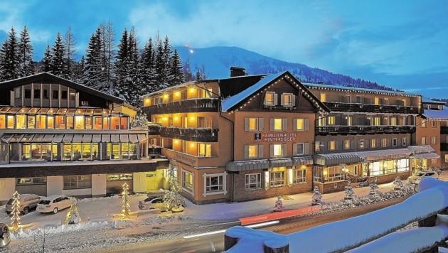 Hotel Hinteregger am Katschberg, die Landesgrenze Salzburg-Kärnten verläuft mitten durch das Haus. (Bild: ROLAND HOLITZKY)