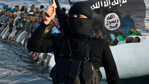 IS-Kämpfer kamen als Flüchtlinge nach Italien