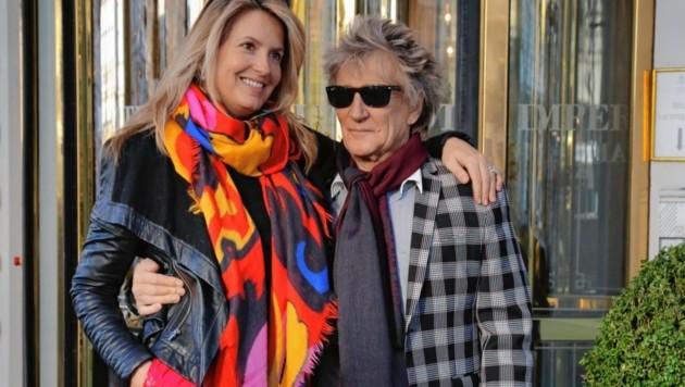 Tiefenentspannt posierte das Paar in Wien auch für Fans. (Bild: Karl Schöndorfer TOPPRESS)