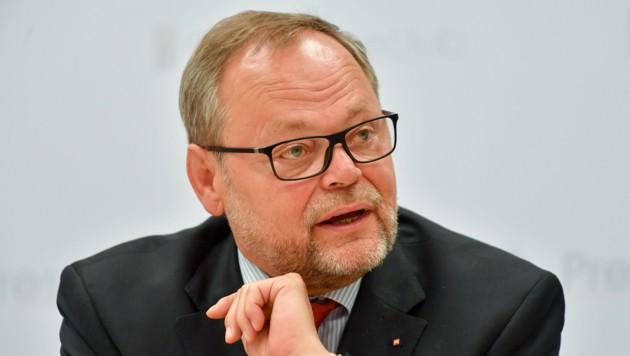 Ex-ÖVP-Landesrat Josef Stockinger, heute Generaldirektor der Oberösterreichischen Versicherung.