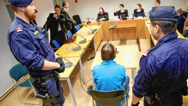 Mord-Prozess am Salzburger Landesgericht (Bild: MARKUS TSCHEPP)