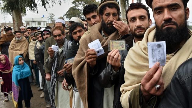 Flüchtlinge aus Afghanistan, Symbolbild