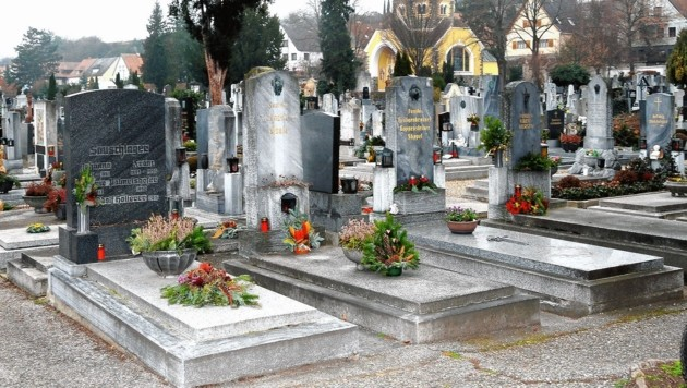 Der Friedhof in Krems (Bild: Franz Crepaz)