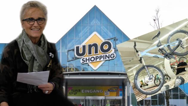 Storemanangerin Anneliese Bachl zieht mit Allinn7 nach nur zwei Monaten aus dem Uno aus. (Bild: Dostal, Einöder)