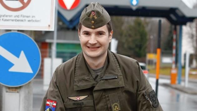 Hauptmann Patrick Frinner (Bild: Markus Tschepp)