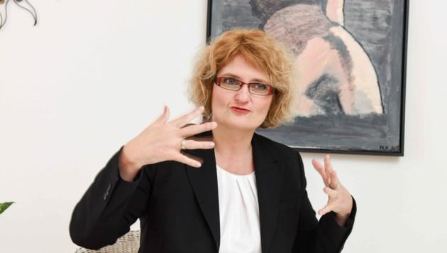 """Sexualtherapeutin Doris Kaiser aus Linz im großen Interview mit der """"Krone"""". (Bild: Markus Wenzel)"""